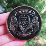 KANSAS CITY MISSOURI POLICE GANG SQUAD COIN Police Trophy Awards