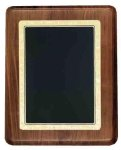 Walnut Plaque with Gloss Black Plate Sales Awards