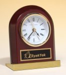Rosewood Piano Finish Clock Secretary Gift Awards